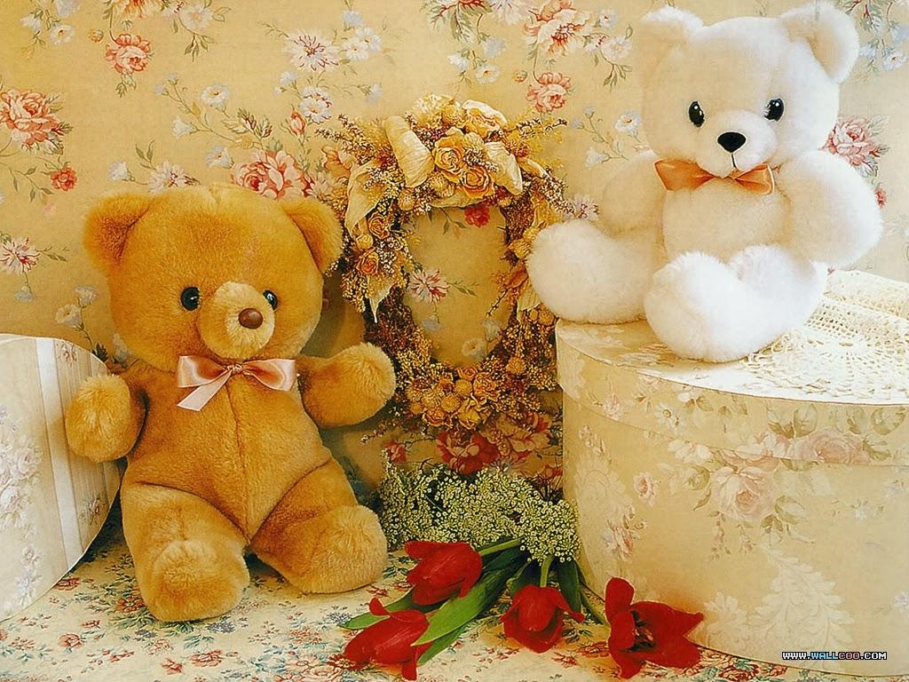 red teddy bear wallpaper,teddy bear,toy,stuffed toy,plush,plant