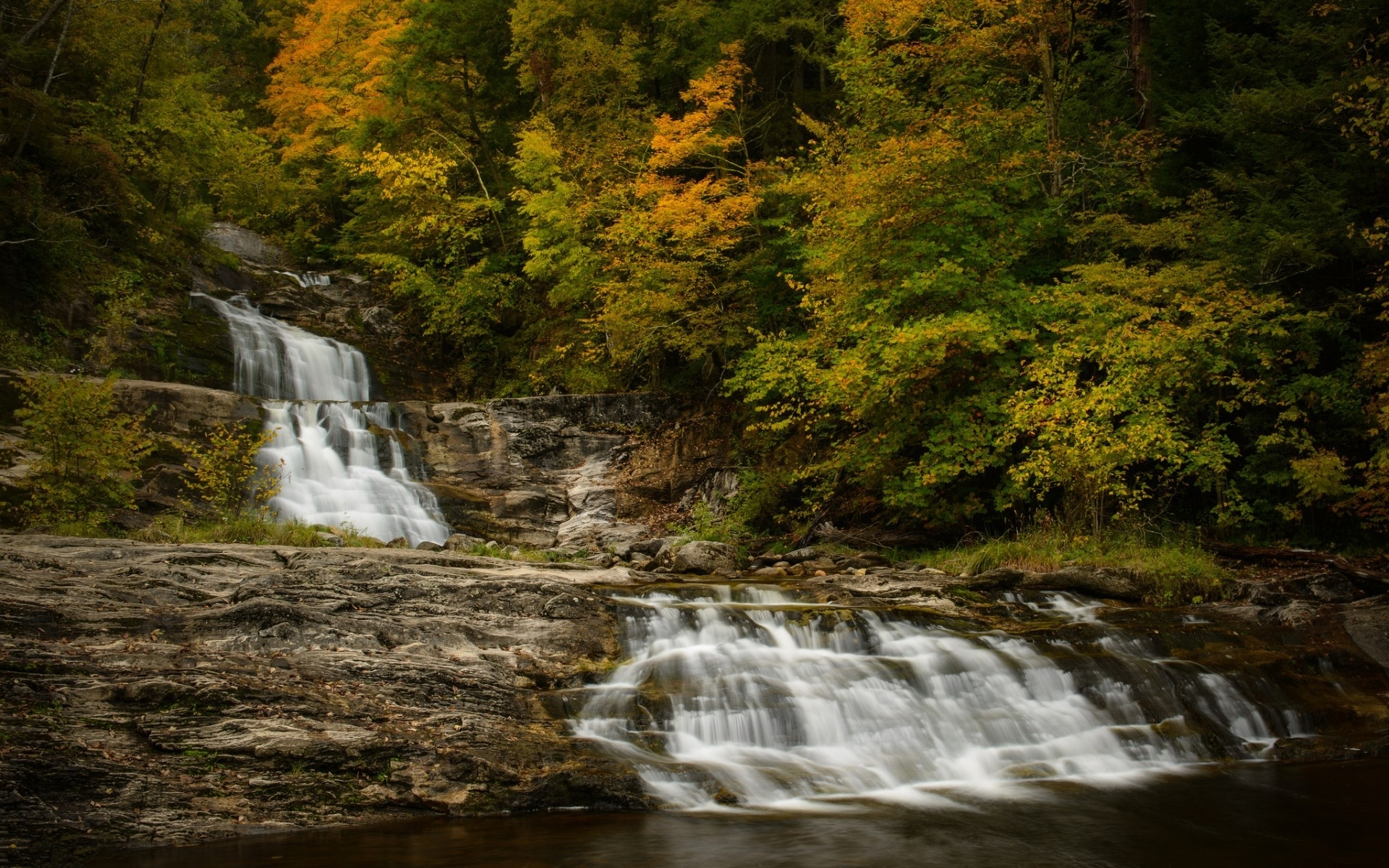 cascade wallpaper,waterfall,body of water,water resources,natural landscape,nature