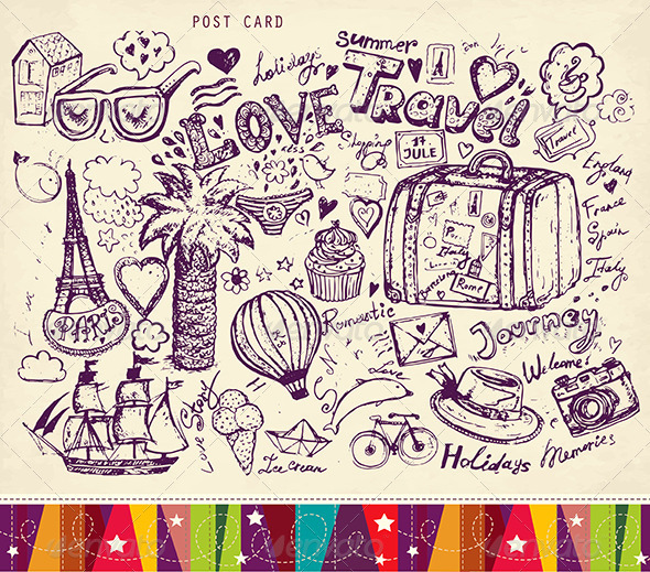 travel themed wallpaper,line art,text,drawing,coloring book,line