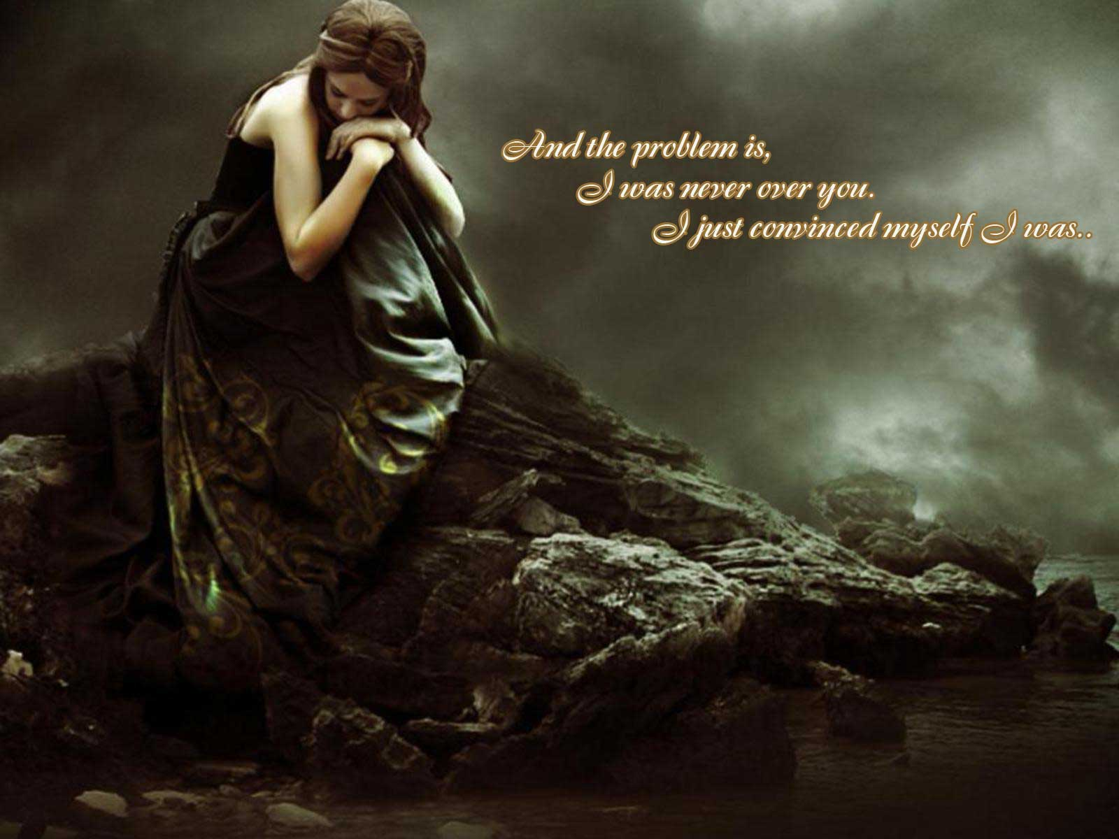 sad love quotes wallpapers free download,mythology,cg artwork,photography,daydream,happy