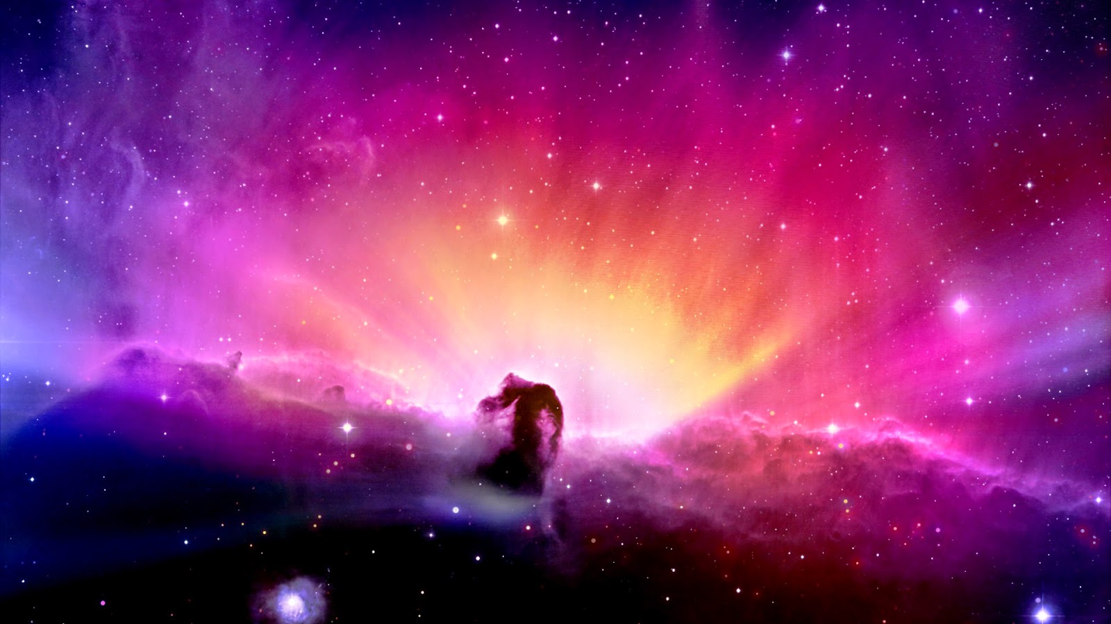 aurora borealis wallpaper hd,nebula,sky,atmosphere,purple,violet