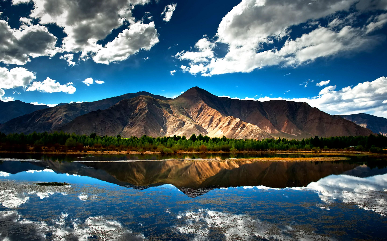 retina display wallpapers,sky,natural landscape,reflection,nature,mountain