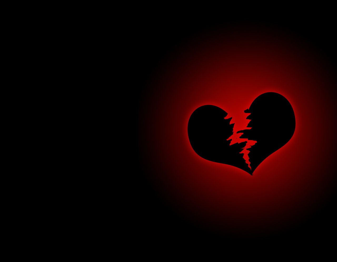 broken heart hd wallpaper,heart,black,red,love,organ