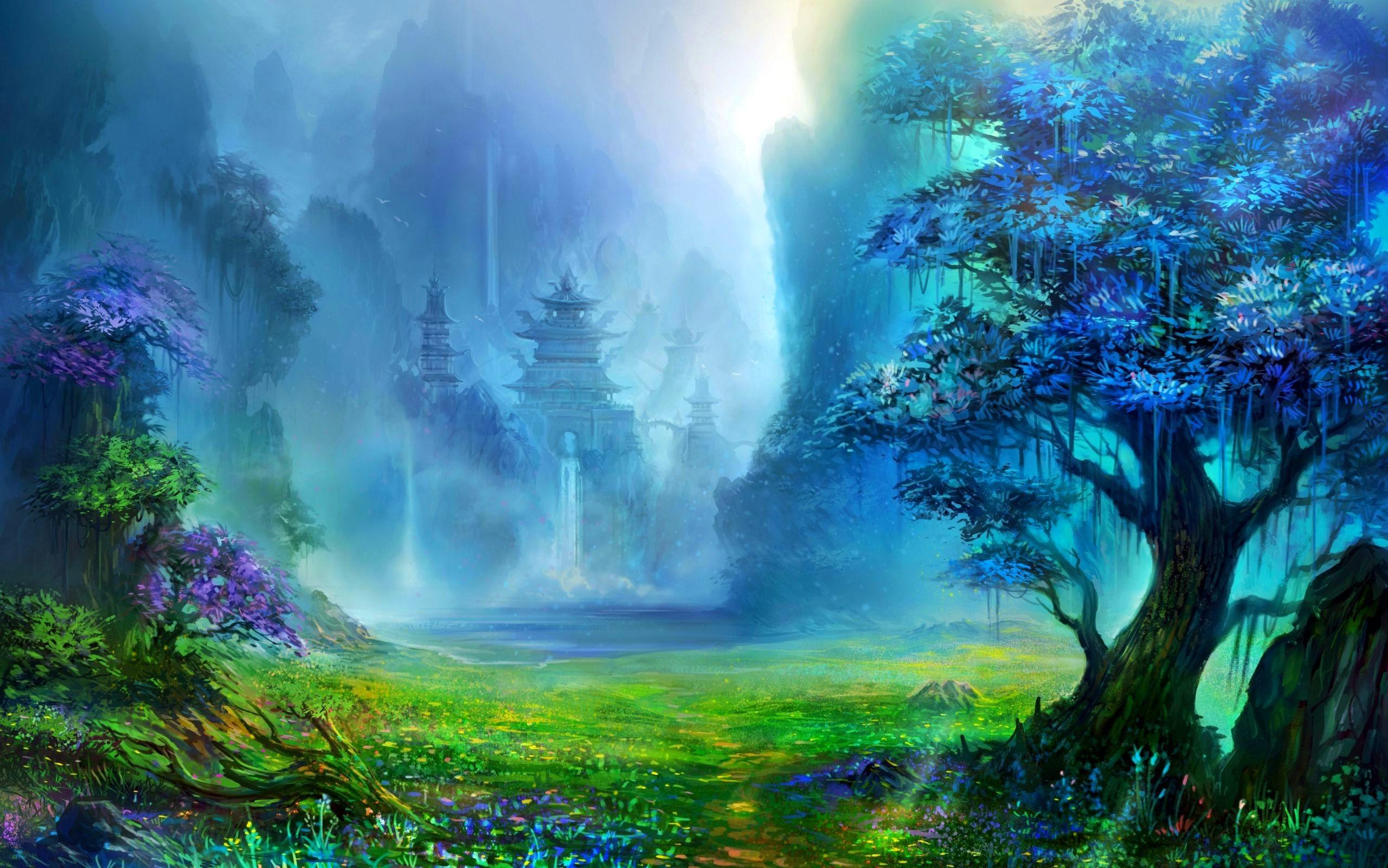 art picture wallpaper,natural landscape,nature,natural environment,forest,jungle