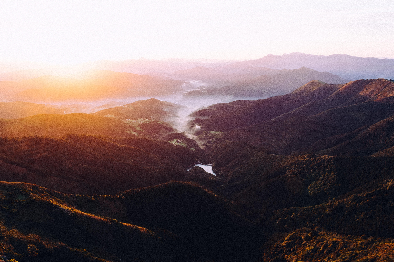 photography desktop wallpaper,mountainous landforms,sky,highland,mountain,atmospheric phenomenon