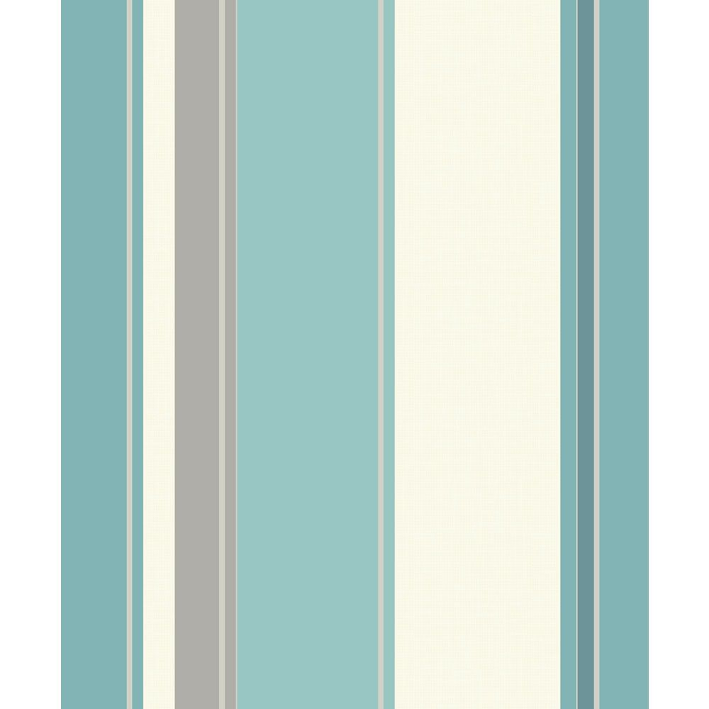 horizontal striped wallpaper b&q,aqua