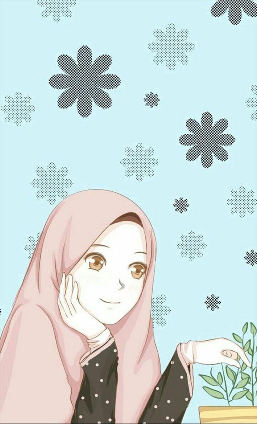Free Anime Muslimah Wallpaper, Anime Muslimah Wallpaper Download ...