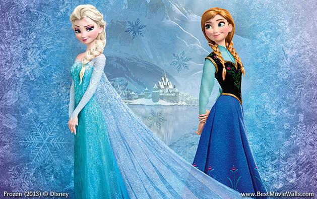frozen wallpaper for tablet,blue,beauty,doll,dress,fashion