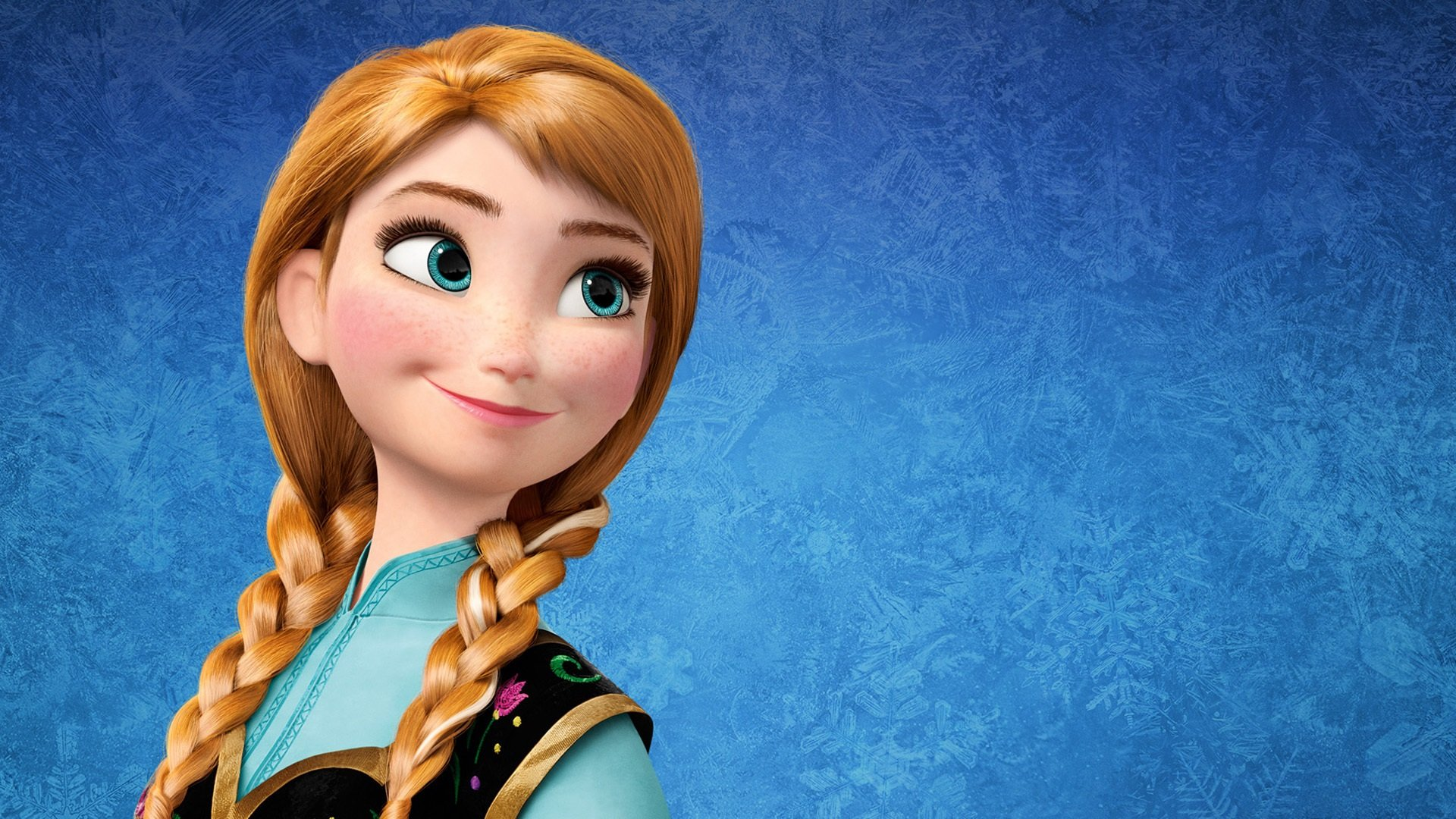 anna wallpaper,hair,cartoon,doll,hairstyle,animated cartoon