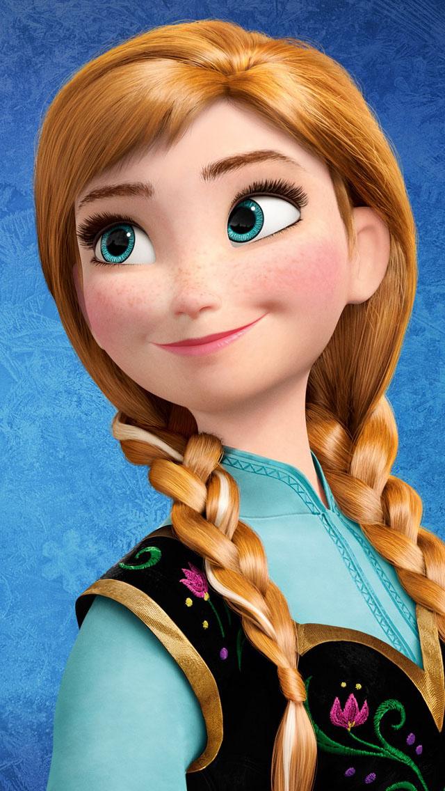anna wallpaper,hair,cartoon,brown hair,hairstyle,doll