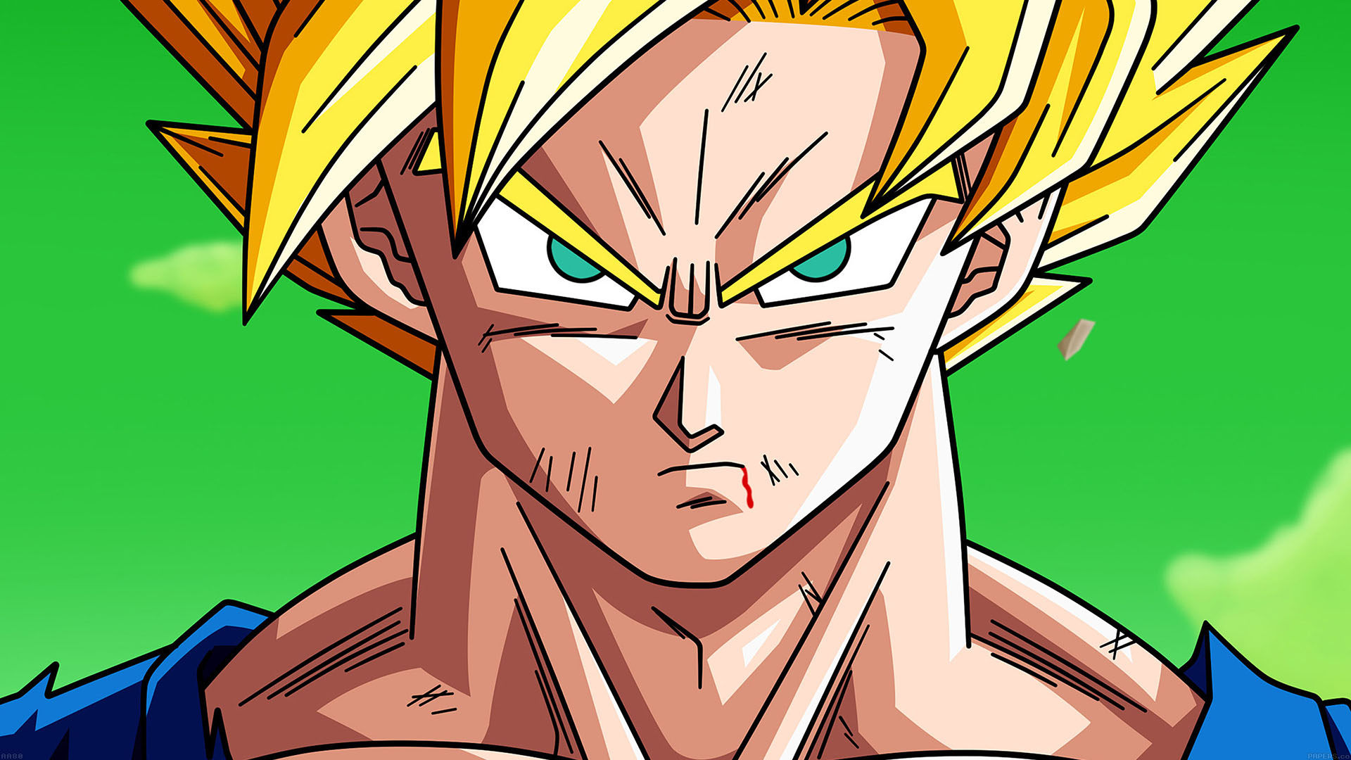 goku full hd wallpaper,anime,cartoon,forehead,fictional character,dragon ball