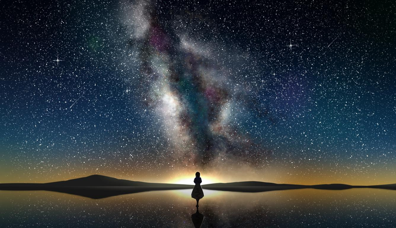 wallpapers 1336 x 768 hd,sky,nature,galaxy,atmosphere,universe