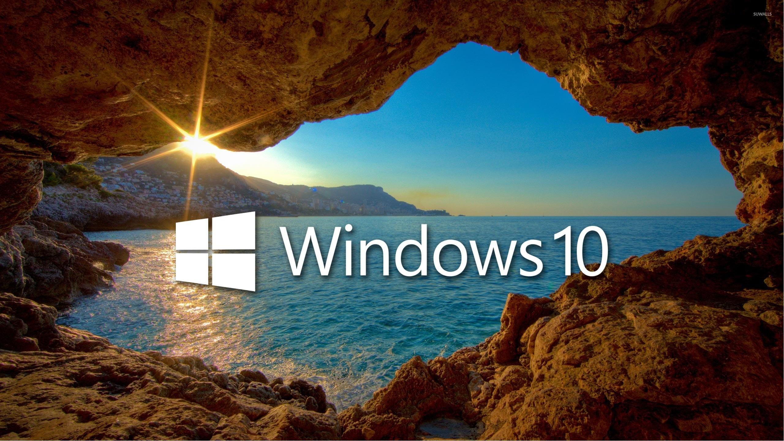 desktop wallpaper hd for windows 10,nature,natural landscape,sky,sea,formation