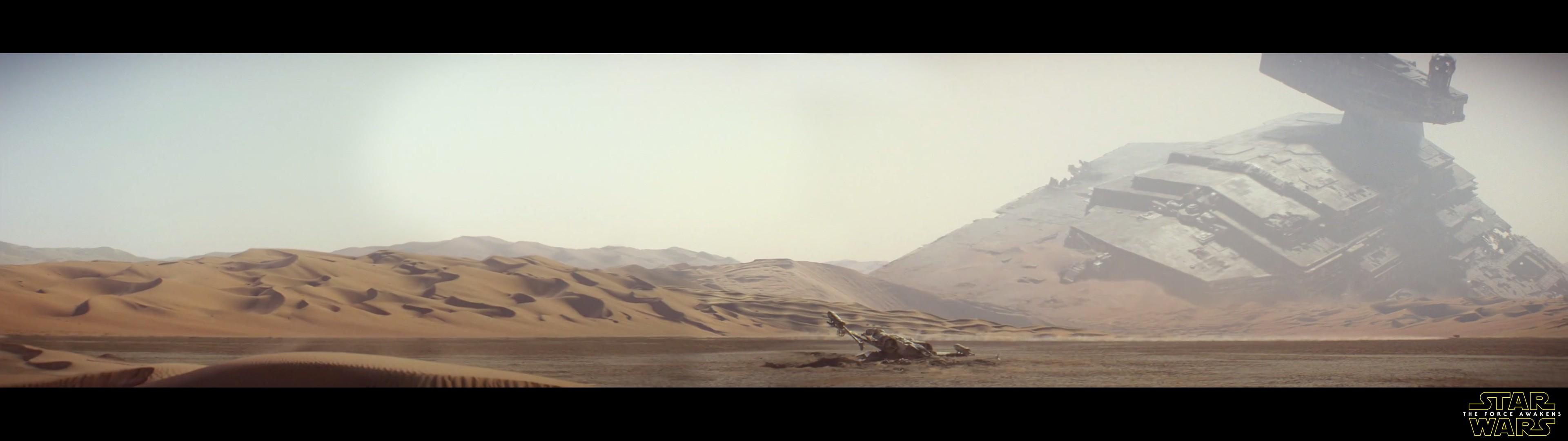 star wars dual monitor wallpaper,desert,sand,natural environment,mountainous landforms,aeolian landform