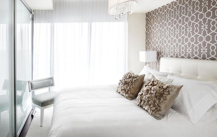contemporary bedroom wallpaper,bedroom,furniture,room,interior design,white