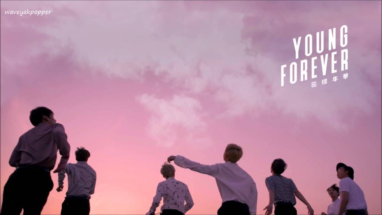 bts desktop wallpaper,pink,sky,fun,font,crowd