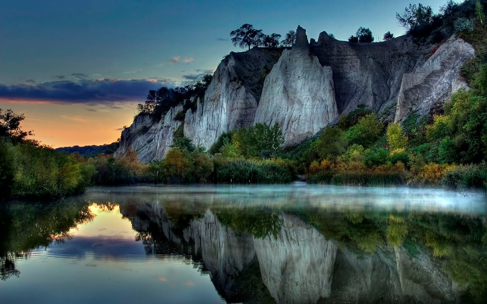 natural image hd wallpaper,natural landscape,nature,reflection,body of water,water