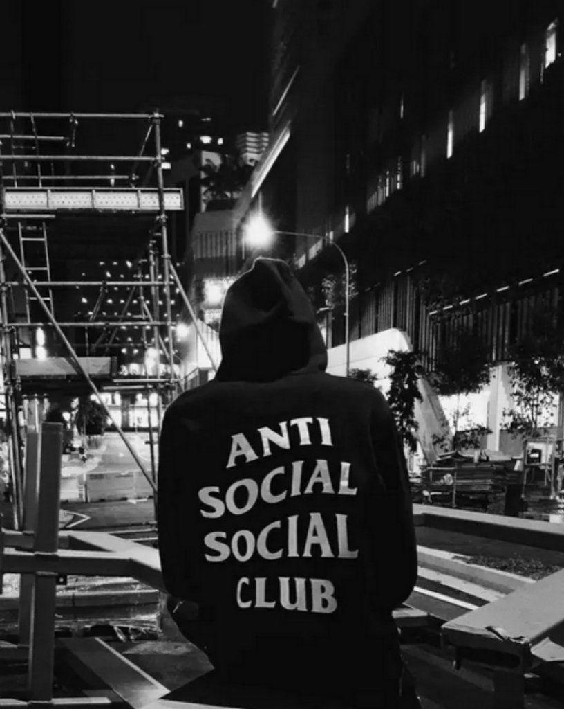 anti social social club wallpaper,snapshot,black and white,monochrome,font,photography