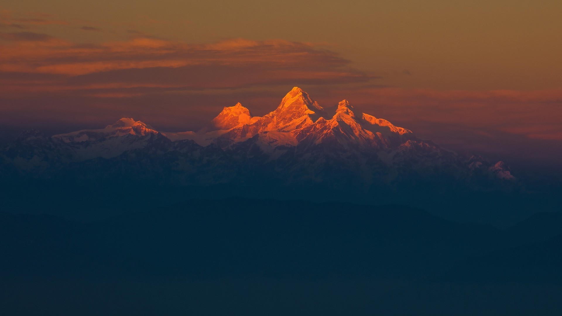 minimalist nature wallpaper,sky,mountainous landforms,mountain,mountain range,cloud