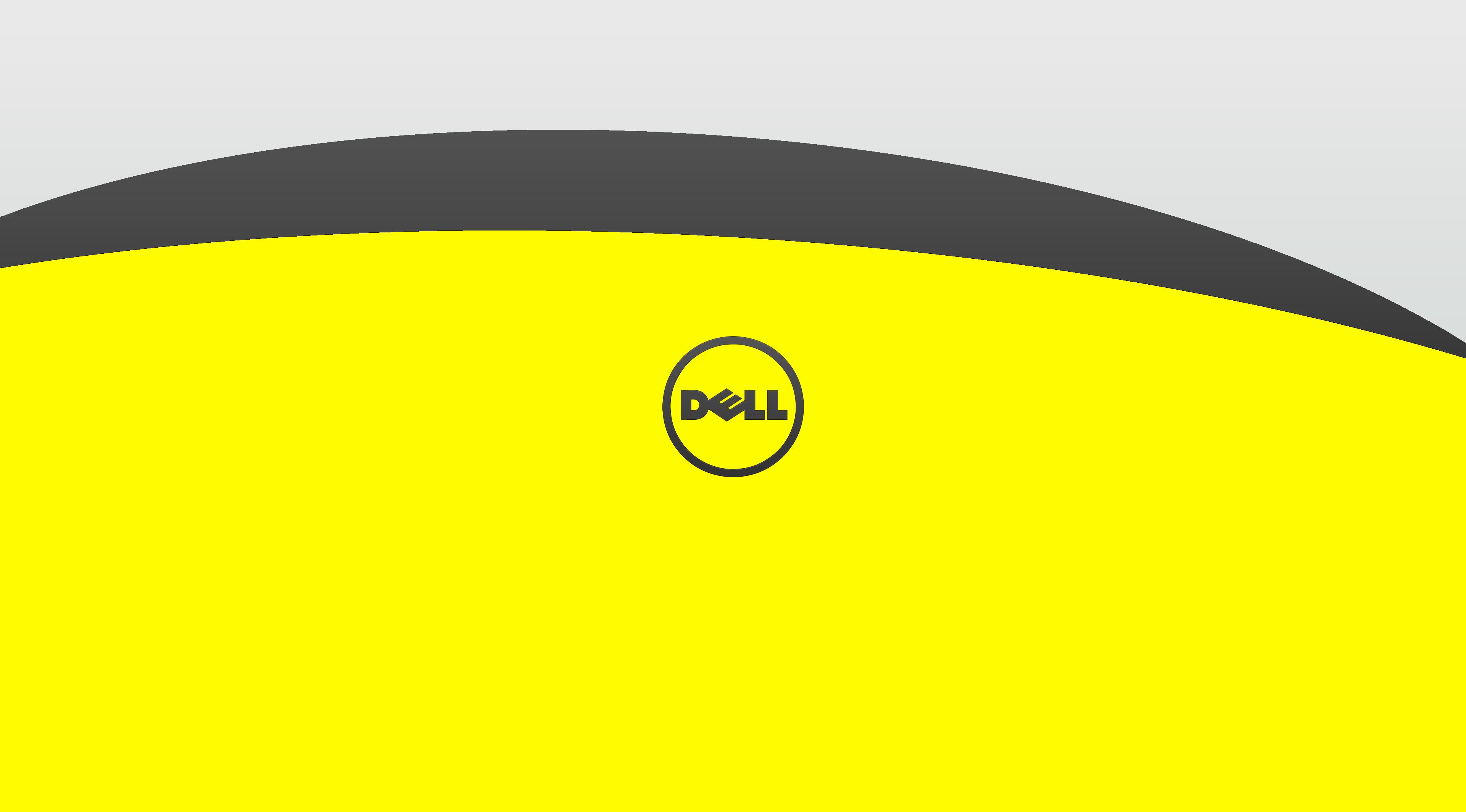 dell wallpaper 1366x768,yellow,green,circle,font,smile