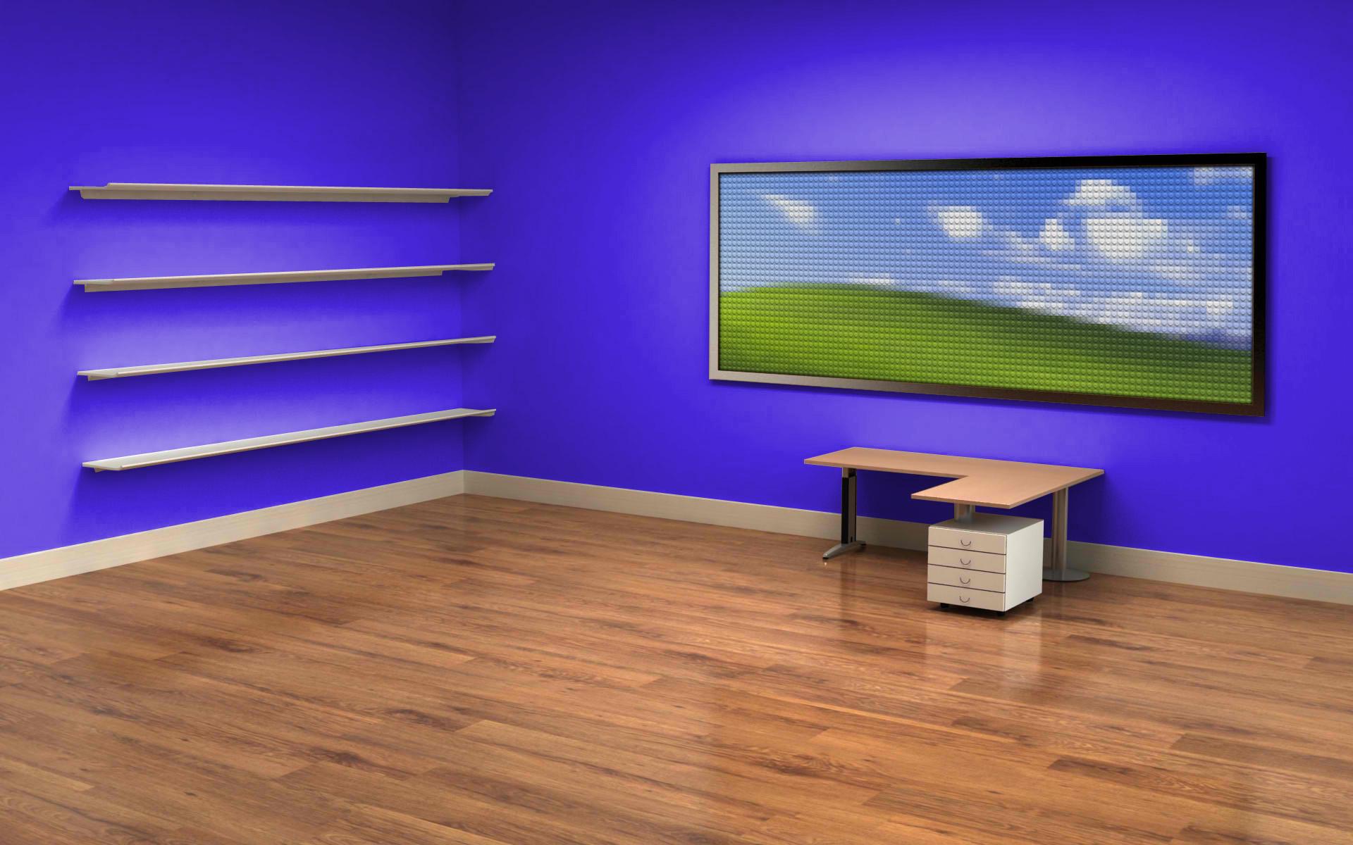office computer wallpaper,blue,laminate flooring,wood flooring,floor,hardwood