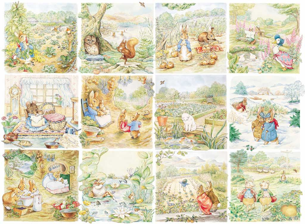 beatrix potter wallpaper,line,clip art,fictional character,art