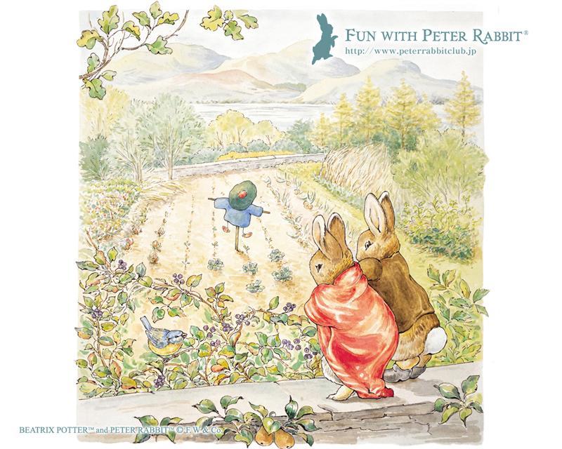 beatrix potter wallpaper,painting,art,illustration,fictional character,rabbit