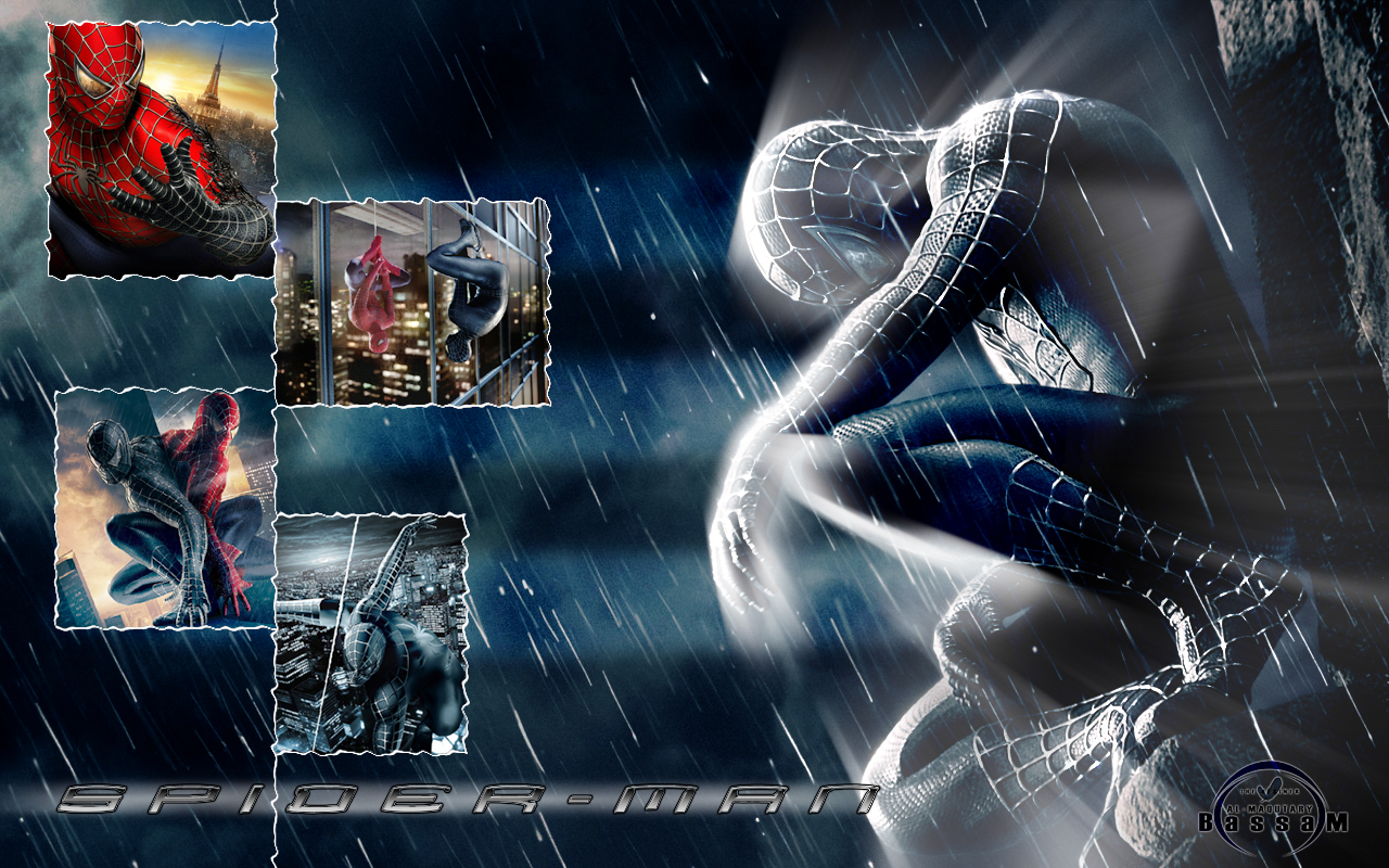moving spider wallpaper,cg artwork,graphic design,action adventure game,fictional character,digital compositing