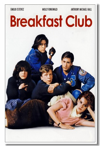 breakfast club wallpaper,poster,movie,album cover