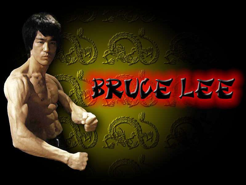 bruce lee hd wallpaper,muscle,font,kung fu,wing chun,album cover