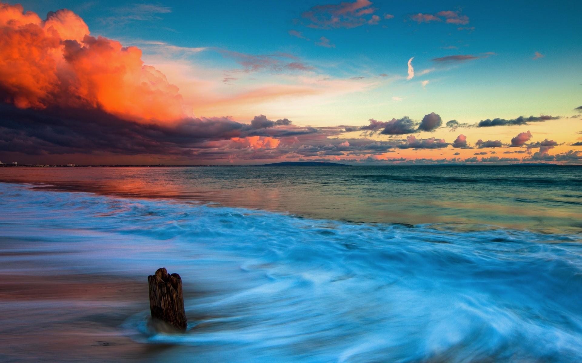 beach pictures wallpaper,sky,body of water,nature,sea,horizon