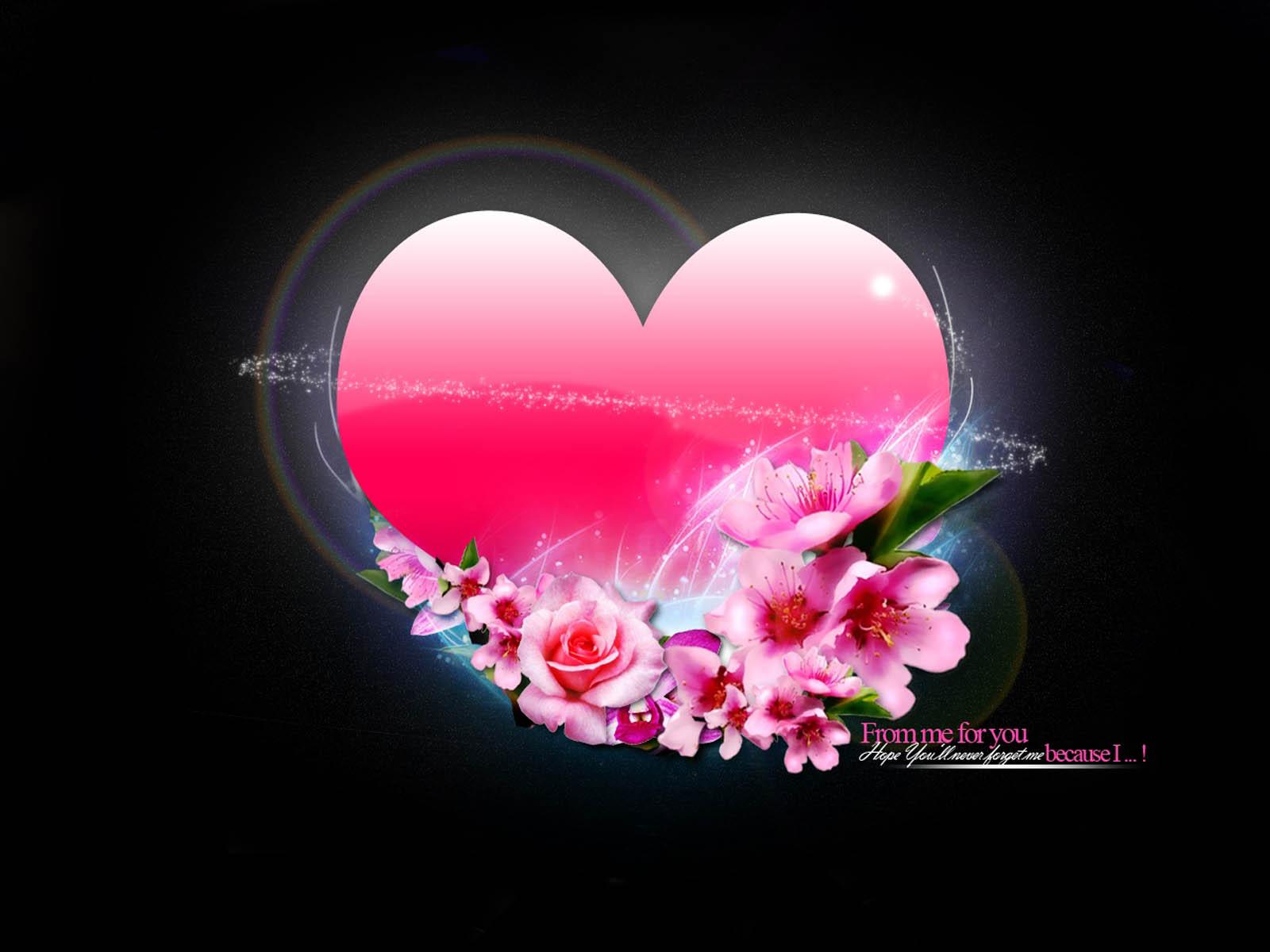 love heart wallpaper,heart,love,pink,valentine's day,petal