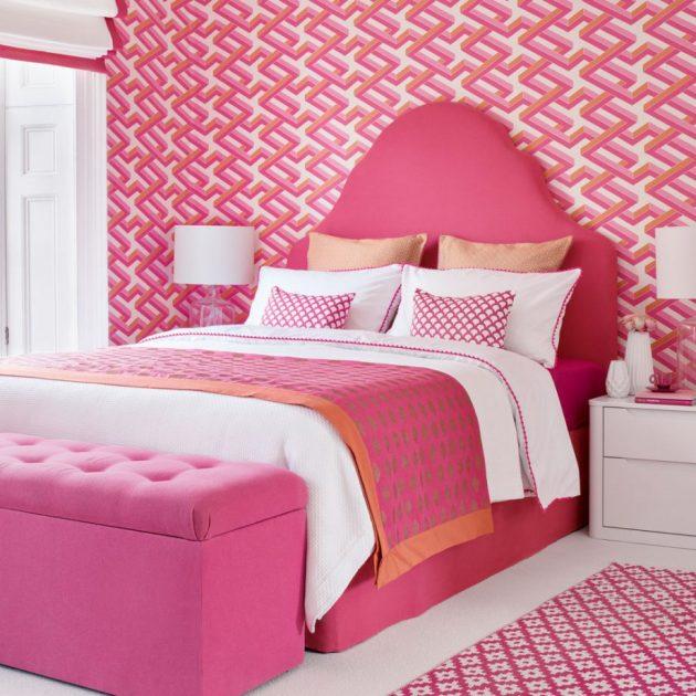 wallpaper for bedroom walls designs,bedroom,bed,pink,furniture,room