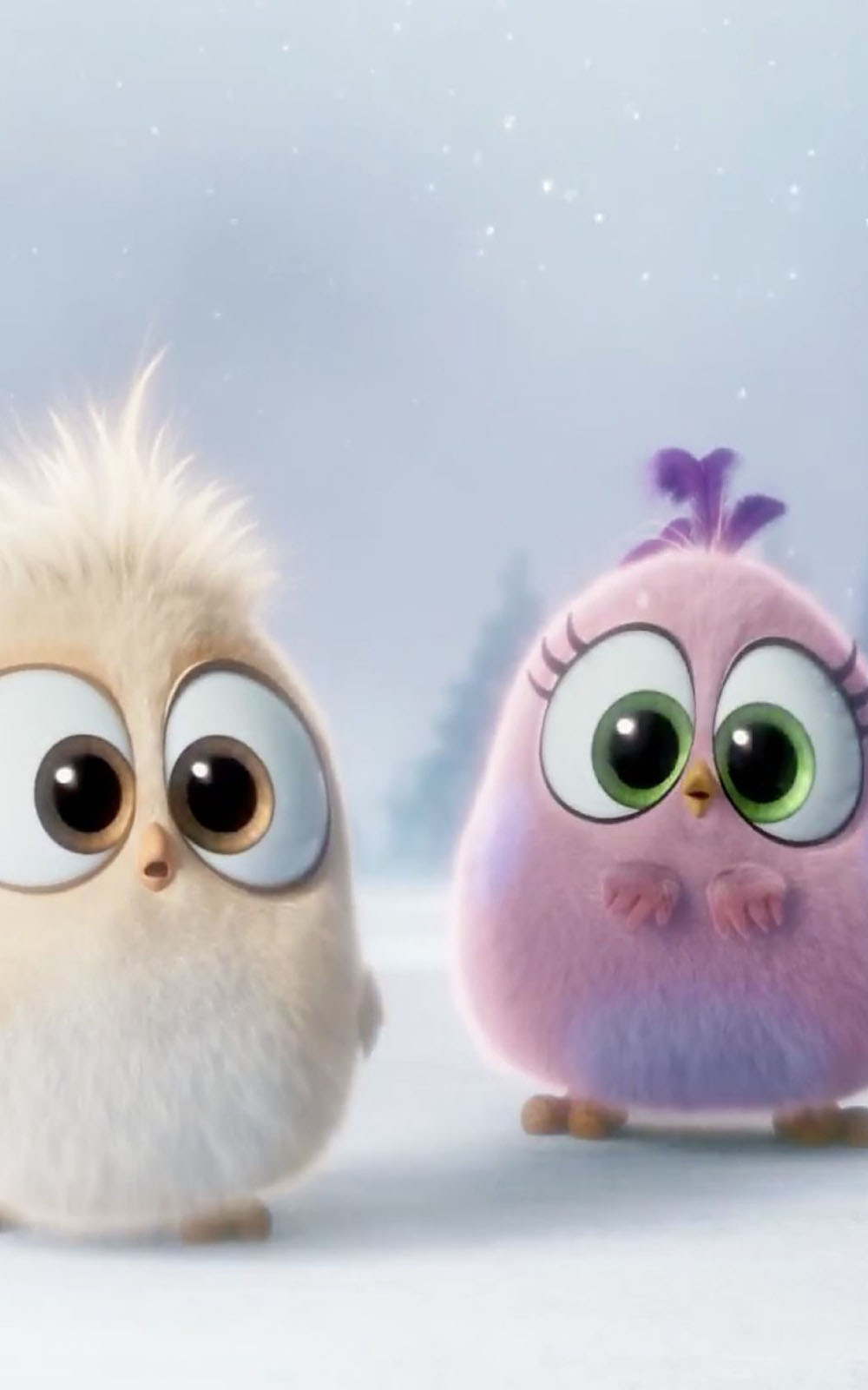 Cute Pics For Wallpaper Snowy Owl Owl Pink Cartoon Purple 999684 Wallpaperuse